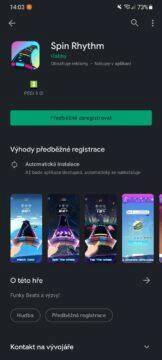 Obchod Play beta předběžný přístup 3 předběžně zaregistrovat