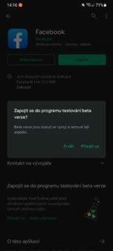 Obchod Play beta předběžný přístup aplikace 5 zapojit se do programu