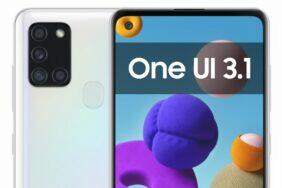 One UI 3.1 aktuální seznam