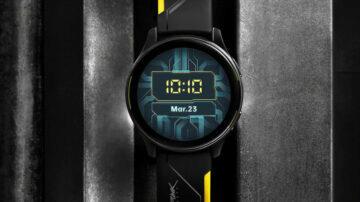 OnePlus Watch Cyberpunk 2077 edice