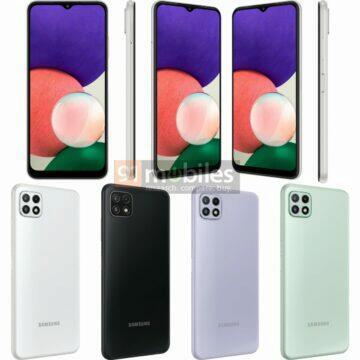 představení Galaxy A22 4G a 5G