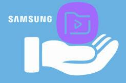 přehrávání videa ve videopřehrávači Samsung Náhled