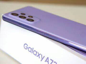 Samsung Galaxy A72 bok