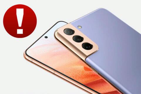 Samsung opravil závažnou chybu u svých telefonů