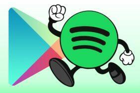 Spotify miliarda stažení v Obchodě Play