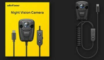 Ulefone mobilní kamera s nočním viděním design