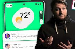 uniká video o androidu 12