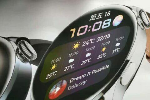 uniklé fotky Huawei Watch 3