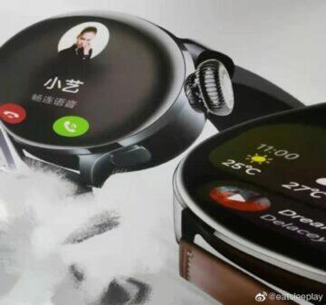 uniklé fotky Huawei Watch 3 design