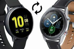 update pro Galaxy Watch3 a Watch Active2