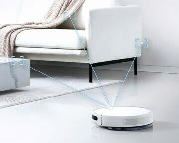 vysavač Mijia 2C Robot Vacuum Cleaner senzory