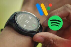 Wear OS Spotify stahování hudby