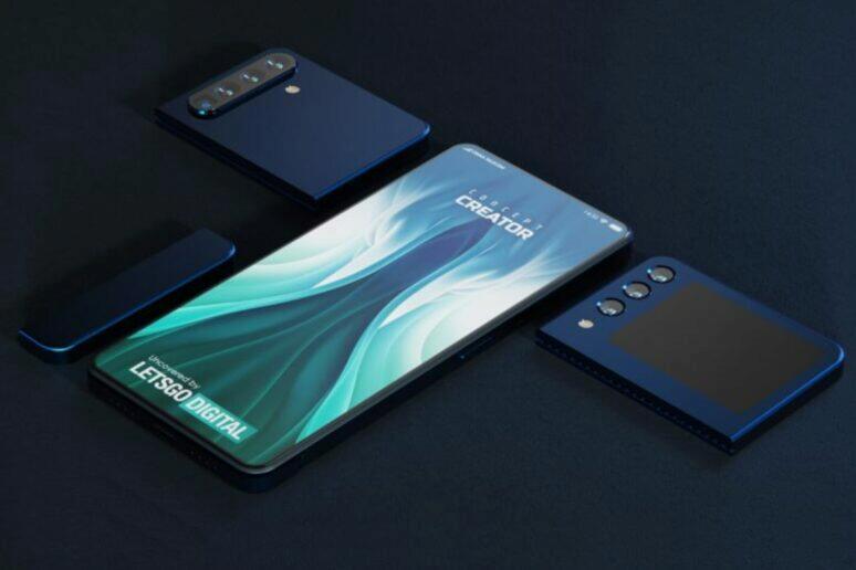 Xiaomi modulární telefon patent