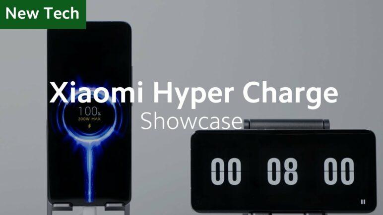 Xiaomi's First 200W Wired & 120W Wireless Fast Charging