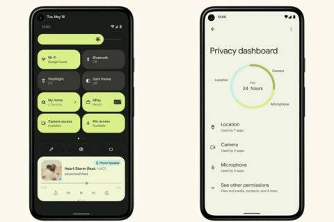 Zahraniční první pohled na Android 12
