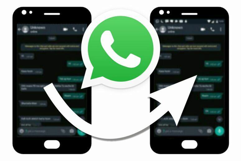 záloha obsahu z WhatsApp aplikace mezi přístroji