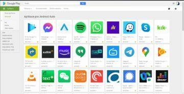 Android Auto kompatibilní aplikace všechny