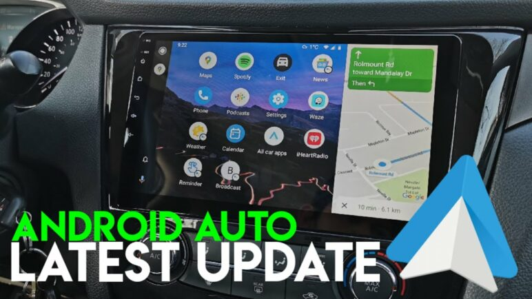 ANDROID AUTO Latest Update 2021 | Change Wallpaper Background