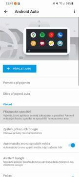Android Auto přehlednější zástupce aplikací hlavní karta