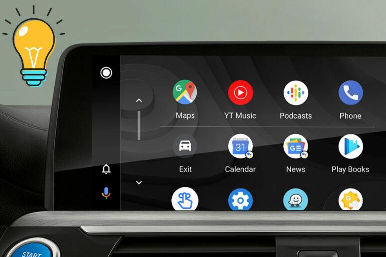 Android Auto tipy a triky