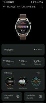 aplikace Huawei Zdraví 8 nastavení hodinek