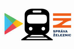 Aplikace Infotabule odjezdové tabule cestování vlakem zpoždění vlaků odjezd vlaku