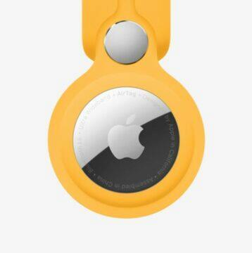 Apple AirTag aplikace Android iPhone lokátor obal