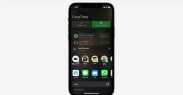 Apple představil iOS 15 facetime android
