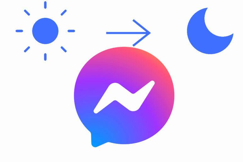 Automatický tmavý režim pro Facebook Messenger Náhled