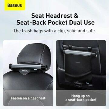 Baseus závěsné odpadkové koše do auta