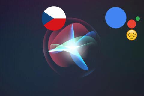 česká siri apple google