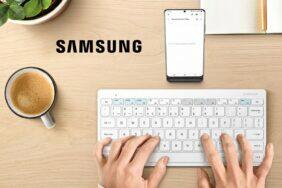 Chytrá klávesnice Samsung Trio 500