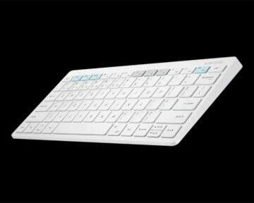 Chytrá klávesnice Samsung Trio 500 bílá