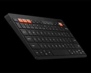 Chytrá klávesnice Samsung Trio 500 černá)