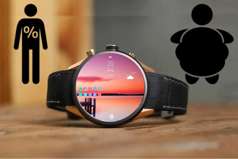 Chytré hodinky Samsung Galaxy Watch 4 smartwatch fitness zdraví měření tuku v těle