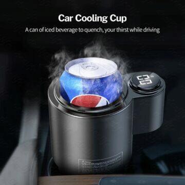 Deelife chladicí a ohřívací držák na nápoje do auta plechovka
