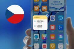 dostupnost HarmonyOS v mobilních telefonech v Česku