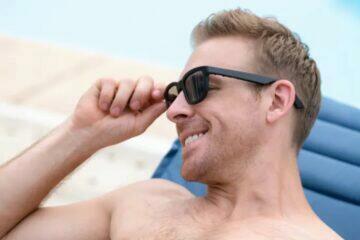Dusk brýle s elektrochromatickými skly Indiegogo obroučka