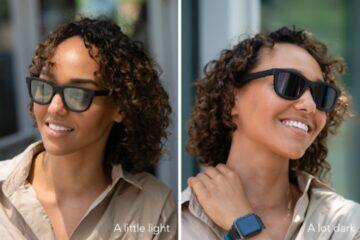Dusk brýle s elektrochromatickými skly Indiegogo rozdíl