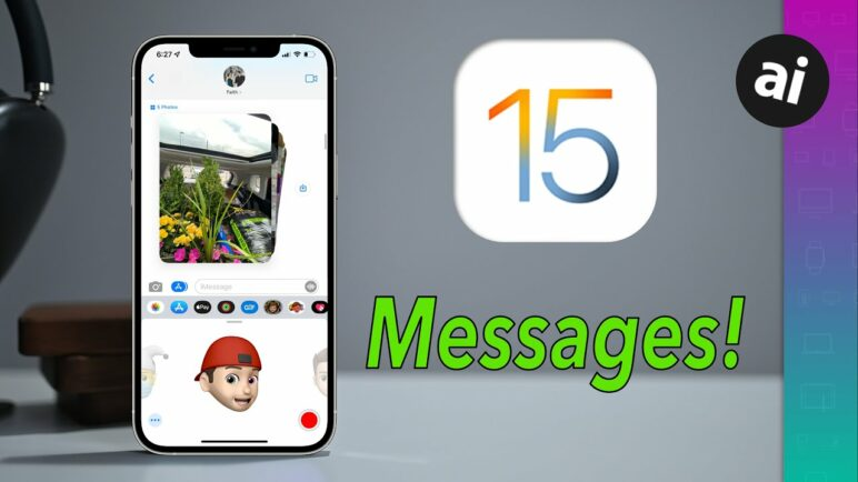 Everything NEW with Messages in iOS 15! Photos & Shared With You!