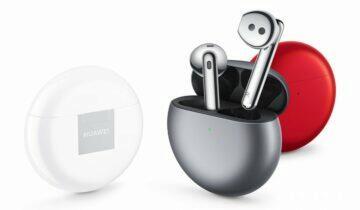 Evropská cena sluchátek Huawei FreeBuds 4