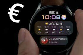Evropské ceny hodinek Huawei Watch 3