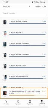Exynos AMD 3DMark benchmark iPhone 12 Pro Max