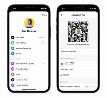 Facebook Messenger Generátor platebních QR kódů a odkazů