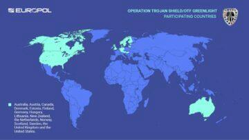 FBI Europol ANON země