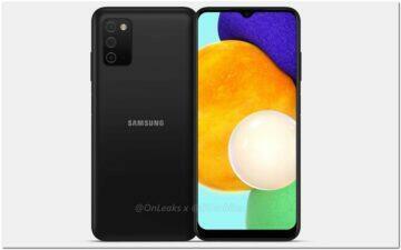Galaxy A03s nejpopulárnější levný Samsung - predni strana