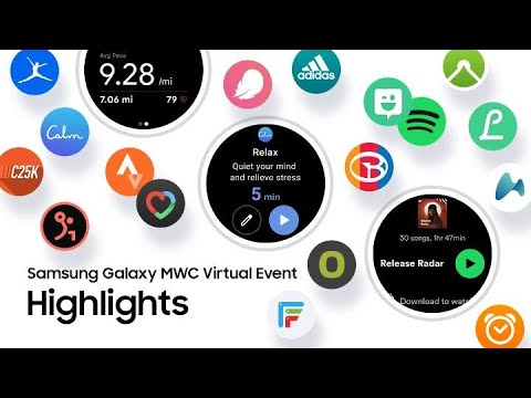 Galaxy MWC Virtual Event Highlights | Samsung