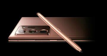 Galaxy S21 Ultra se stylusem S Pen Note20