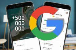 Google Asistent 500 milionů stažení instalací Obchod Play