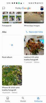 google fotky jak používat